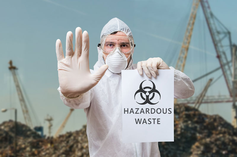 a guide to handling chemical waste